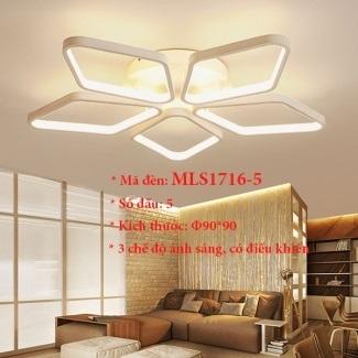 Đèn ốp trần trang trí VN-MLS1716-5